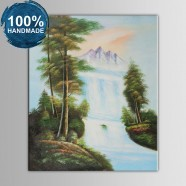 100% Hand Painted Realistic Landscape Oil Painting on Canvas (DK-JX-YH061)