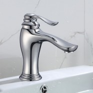 Basin&Sink Faucet - Brass with Chrome Finish (81H36-CHR-011)