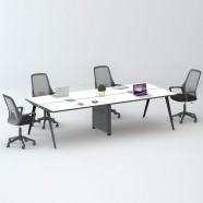 4 Persons Office Workstation - 2 Optional Colors (WM12-24W)