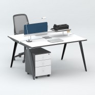 2 Persons Office Workstation - 2 Optional Colors (WM11-12W)