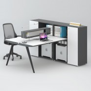 2 Persons Office Workstation - 2 Optional Colors (WM71-12W)