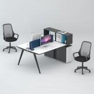 2 Persons Office Workstation - 2 Optional Colors (WM31-15W)