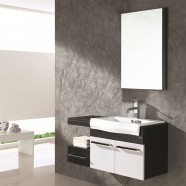 40 In. Single Sink Wall Mount Bathroom Vanity Set with Mirror(PD-1274)