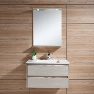 31 In. Wall Mount Bathroom Vanity Set with Mirror and Lamp (DK-603800)