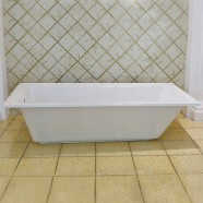 59 In Drop-in Bathtub - Acrylic White (DK-OM1500)