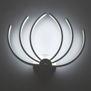 Iron Built Modern LED Acrylic Wall Sconce (DK-W0025)