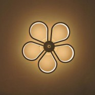 Iron Built Modern LED Acrylic Wall Sconce (DK-W0019)