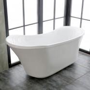 71 In Freestanding Bathtub - Acrylic Pure White (DK-PW-K57880)