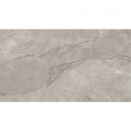 24 x 12 In.Gray Porcelain Floor Tile - 8 Pcs/Case (15.50 sq.ft/Case) (MO60B-2)