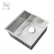 14.2 x 12.6 In. Stainless Steel Single Bowl Kitchen Sink (AS1412-R0)