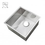 Stainless Steel Single Bowl Kitchen Sink (AS1515-R0)