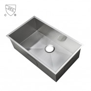 Stainless Steel Single Bowl Kitchen Sink (AS3118-R0)