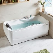 59 In Whirlpool Tub - Acrylic White (DK-Q348)