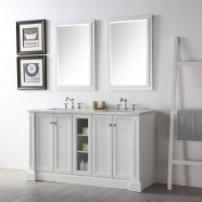 60 In. Bathroom Vanity Set without Mirror (DK-6360-W)