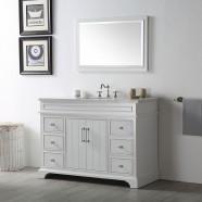 48 In. Bathroom Vanity Set without Mirror (DK-6748-W)