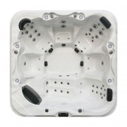 6-Person 50-Jet Spa with LED Lighting and Ozone (DK-Caspian Sea)