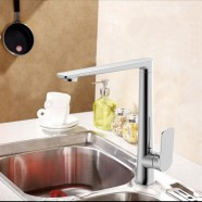 Chrome Finished Brass Kitchen Faucet (30001)