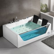 71 In Whirlpool Tub - Acrylic White (DK-Q411)