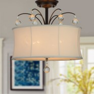 4-Light Semi-Flush Ceiling Light (DK-RL4822SWAG)