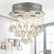 5-Light Crystal Ceiling Chandelier (DK-RL6044)