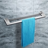 Double Towel Bar 23.60 Inch - Chrome Brass (1110)