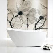 67 In White Acrylic Freestanding Bathtub (DK-SLDYG873)