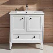 31 In. Freestanding Bathroom Vanity (DK-672800W-V)