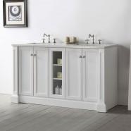 60 In. Bathroom Vanity (DK-6360-W)
