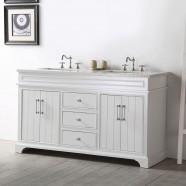 60 In. Bathroom Vanity (DK-6760-W)