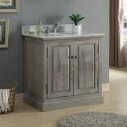 36 In. Freestanding Bathroom Vanity (DK-WK9436)