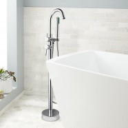 Freestanding Tub Faucet - Brass with Chrome Finish (Y003)