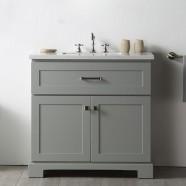 36 In. Single Bathroom Vanity (DK-6636-CG)