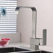 Kitchen Faucet - Brass with Brushed Finish (82H08G-BN)