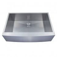33 x 22 In. Stainless Steel Handmade Kitchen Sink (AF3322-R0)