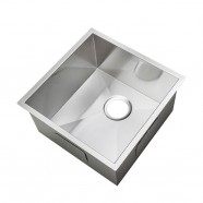 15 x 15 In. Stainless Steel Single Bowl Kitchen Sink (AS1515-R0)