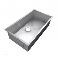 33.5 x 17.5 In. Stainless Steel Single Bowl Kitchen Sink (AS3418-R0)