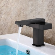 Basin&Sink Faucet - Brass with Matte Black Finish (YDL-6051OR)