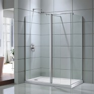 60 In. Shower Door with 36 In. Side Panel (DK-D203-150)