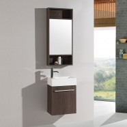 18 In. Plywood Vanity with Basin and Mirror (DK-TH20160A-SET)