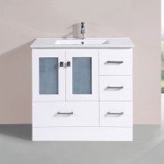 36 In. Plywood Vanity with Basin (DK-T9312-36WV)