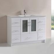 48 In. Plywood Vanity with Top Basin (DK-T9312-48WV)