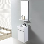 16 In. Wall Mount Vanity Set with Mirror (MS400A-SET)