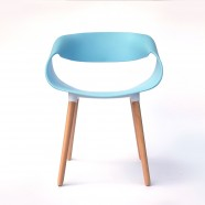 Ring Chair in Skyblue (T876E005-SB)