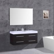 48 In. Plywood Vanity, Basin and Mirror (DK-T9018B-SET)
