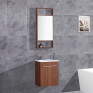 20 In. Plywood Vanity with Basin and Mirror (DK-TH21302B-SET)