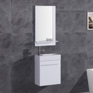 18 In. Vanity with Basin and Mirror (DK-TH21602-SET)