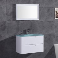 32 In. Vanity with Basin and Mirror (DK-TH22119-SET)