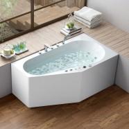 BATHPRO 67 In Whirlpool Bathtub - Acrylic White (DK-M12785L-C)