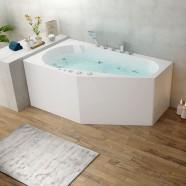 67 In Whirlpool Bathtub - Acrylic White (DK-M13785R-B)