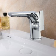 Basin&Sink Faucet - Chrome Finished Brass (81H44-CHR-A)